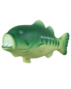 Bass Shaped Stress Reliever