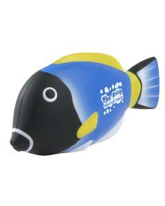 Blue Tang Fish Shaped Stress Reliever