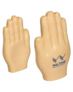 Hand (Flat) Shaped Stress Reliever