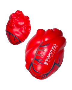 Heart with Veins Shaped Stress Reliever