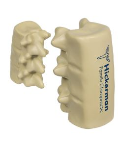 Spinal Segment Shaped Stress Reliever