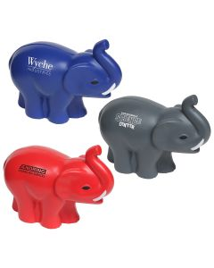 Elephant with Tusks Shaped Stress Reliever