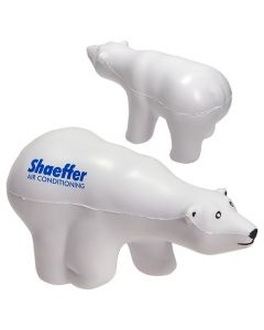 Polar Bear Shaped Stress Reliever