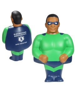 African American Super Hero Stress Reliever