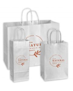 Recycled Shopping Bags (White)
