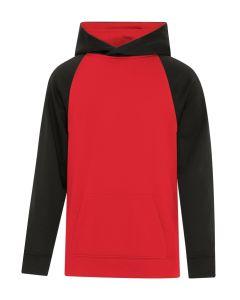 ATC Game Day Fleece Two Tone Hooded Youth Sweatshirt
