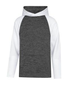 ATC Dynamic Heather Fleece Two Tone Hooded Youth Sweatshirt