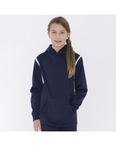 Fleece Varcity Hooded Youth Sweatshirt