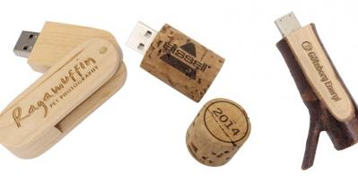 Wooden USB Drives: The Earth Friendly Promotional Gift